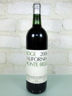 Ridge Vineyards - Monte Bello